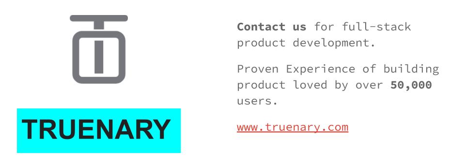 Truenary Solutions